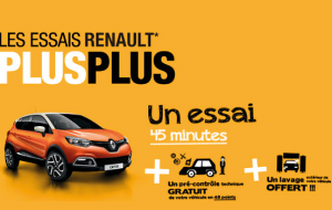 satisfaction client - affiche RENAULT
