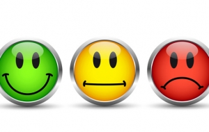 Satisfaction client - smileys