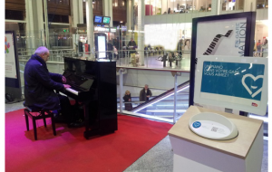 Satisfaction client - Piano gare sncf